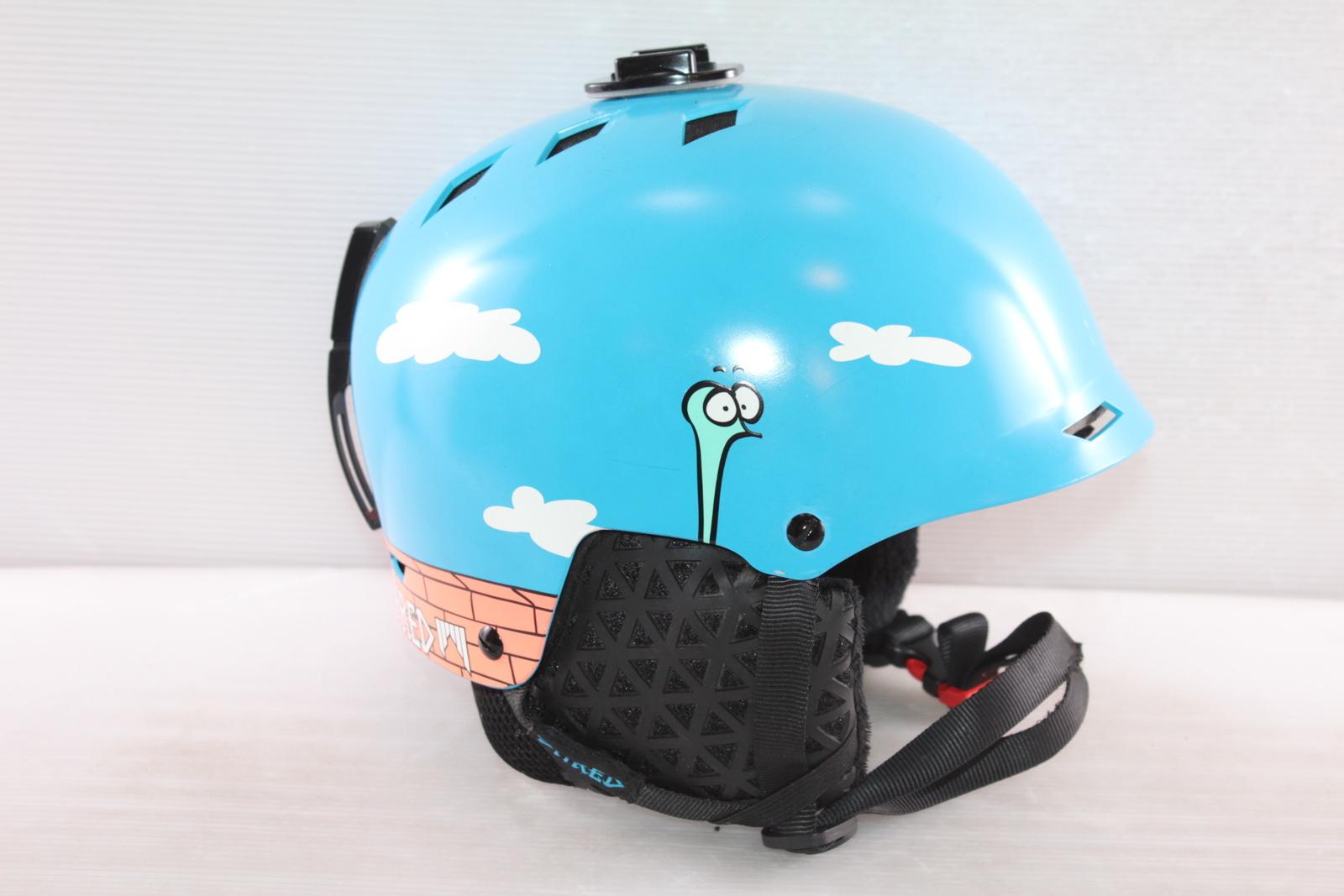 Dětská lyžařská helma Shred Half Brain - posuvná vel. 52 - 56