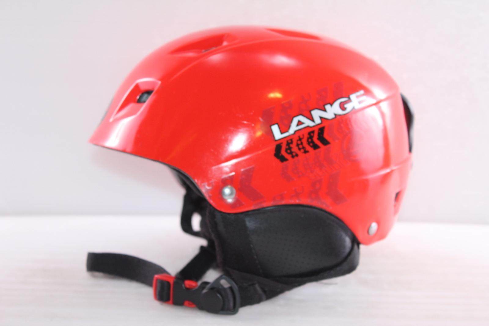 Dětská lyžařská helma Lange Lange - posuvná vel. 52 - 54