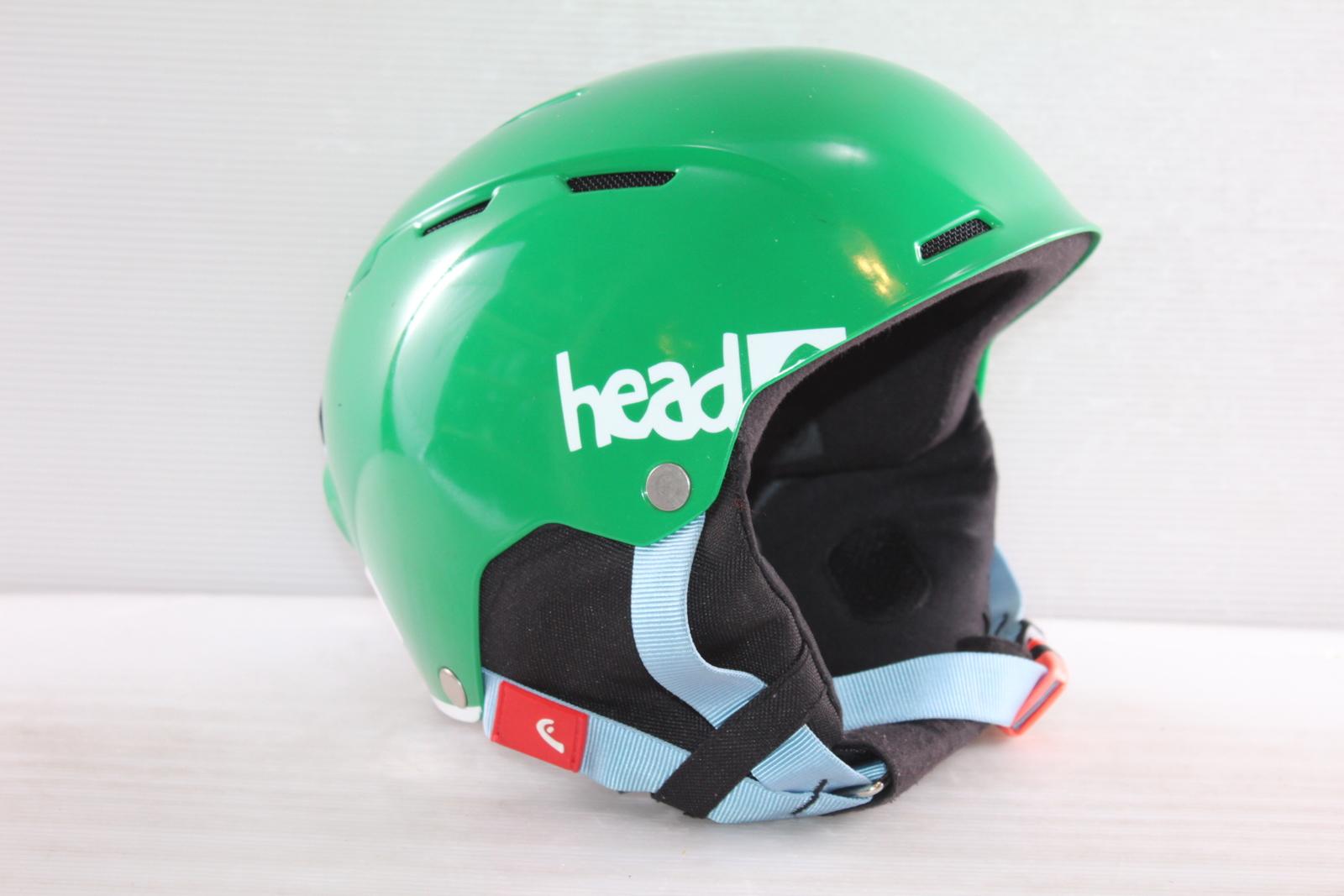 Dětská lyžařská helma Head Air Youth Green - posuvná vel. 52 - 55