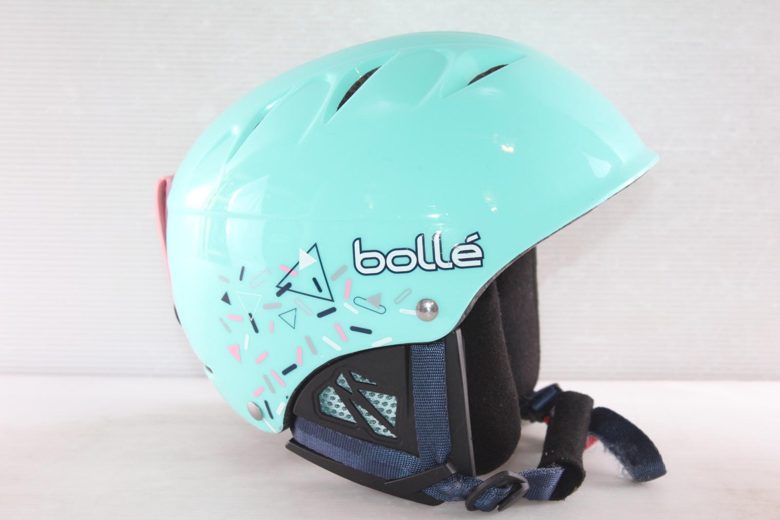 Dívčí lyžařská helma Bolle B- Kid - posuvná vel. 49 - 53
