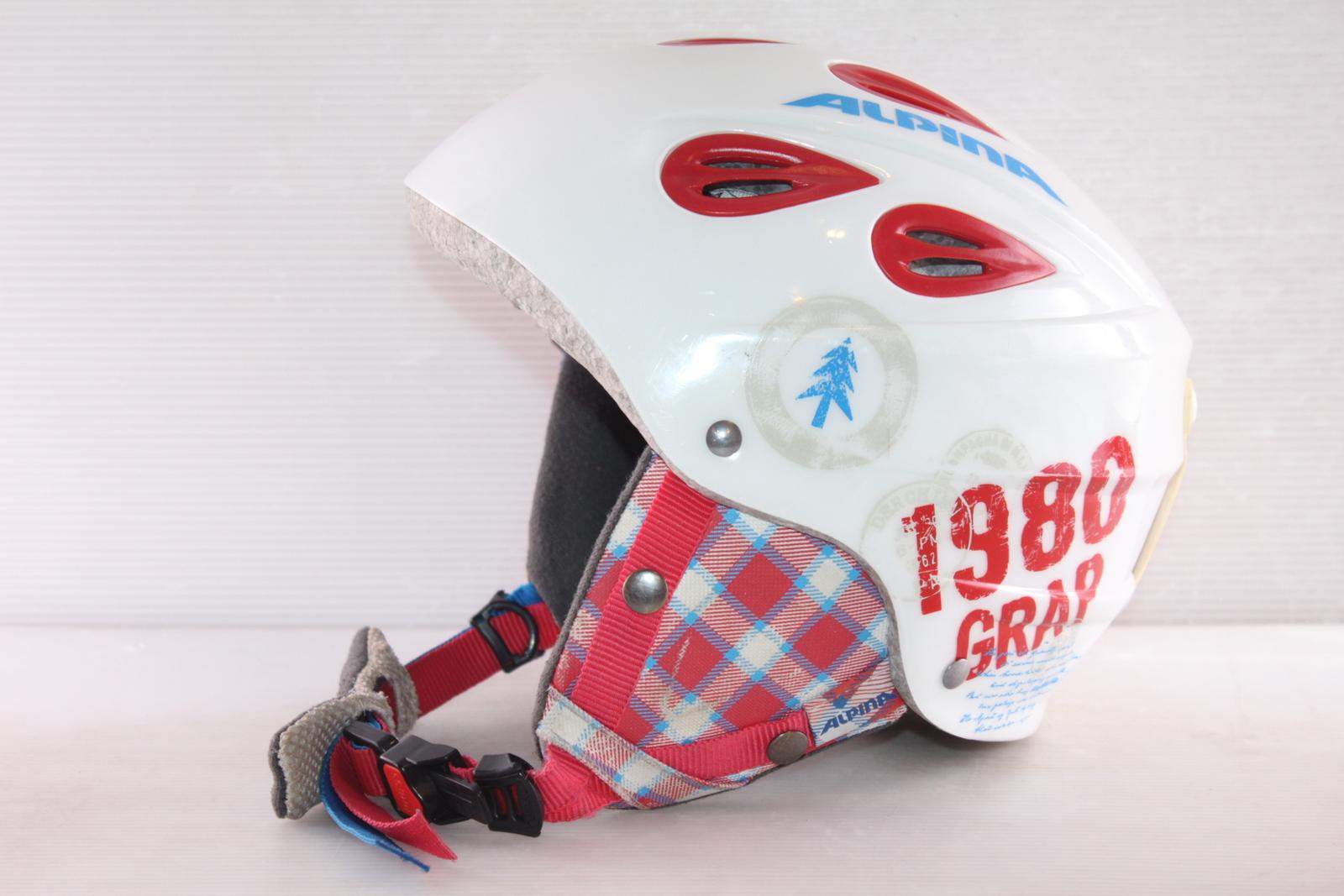 Dětská lyžařská helma Alpina Grap JR - posuvná vel. 51 - 54