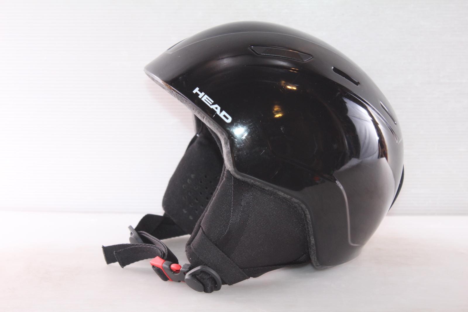 Dětská lyžařská helma Head Mojo Black - posuvná vel. 47 - 51