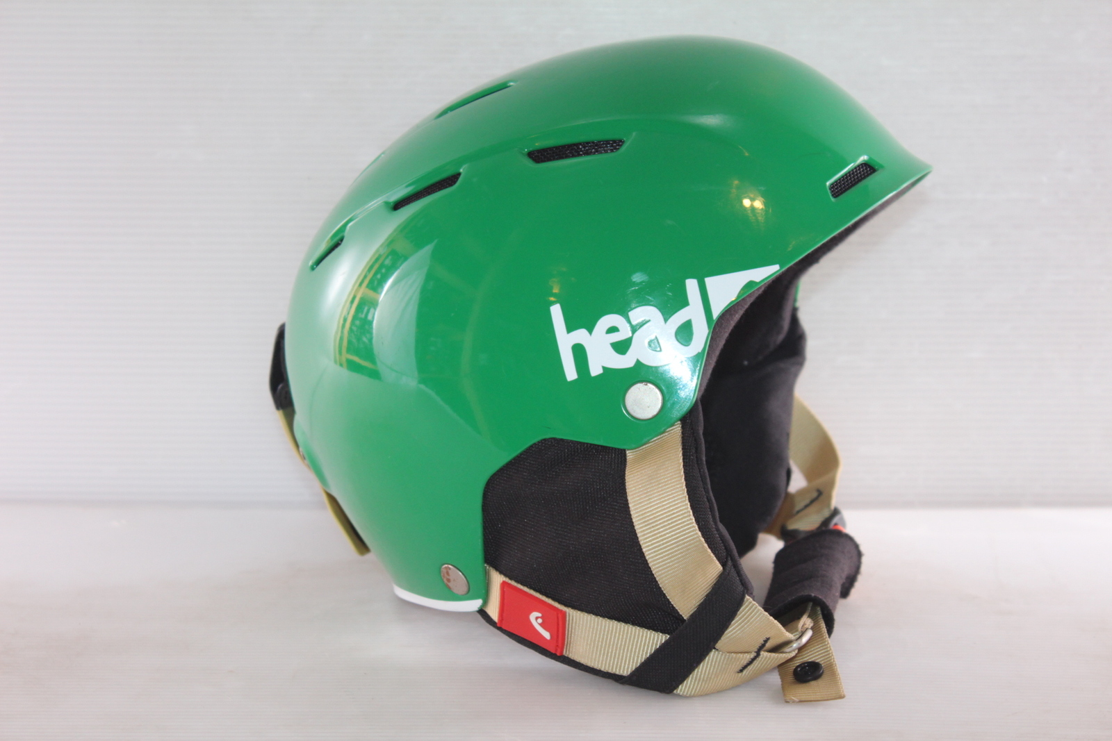 Dětská lyžařská helma Head Air Youth Green - posuvná vel. 56 - 59