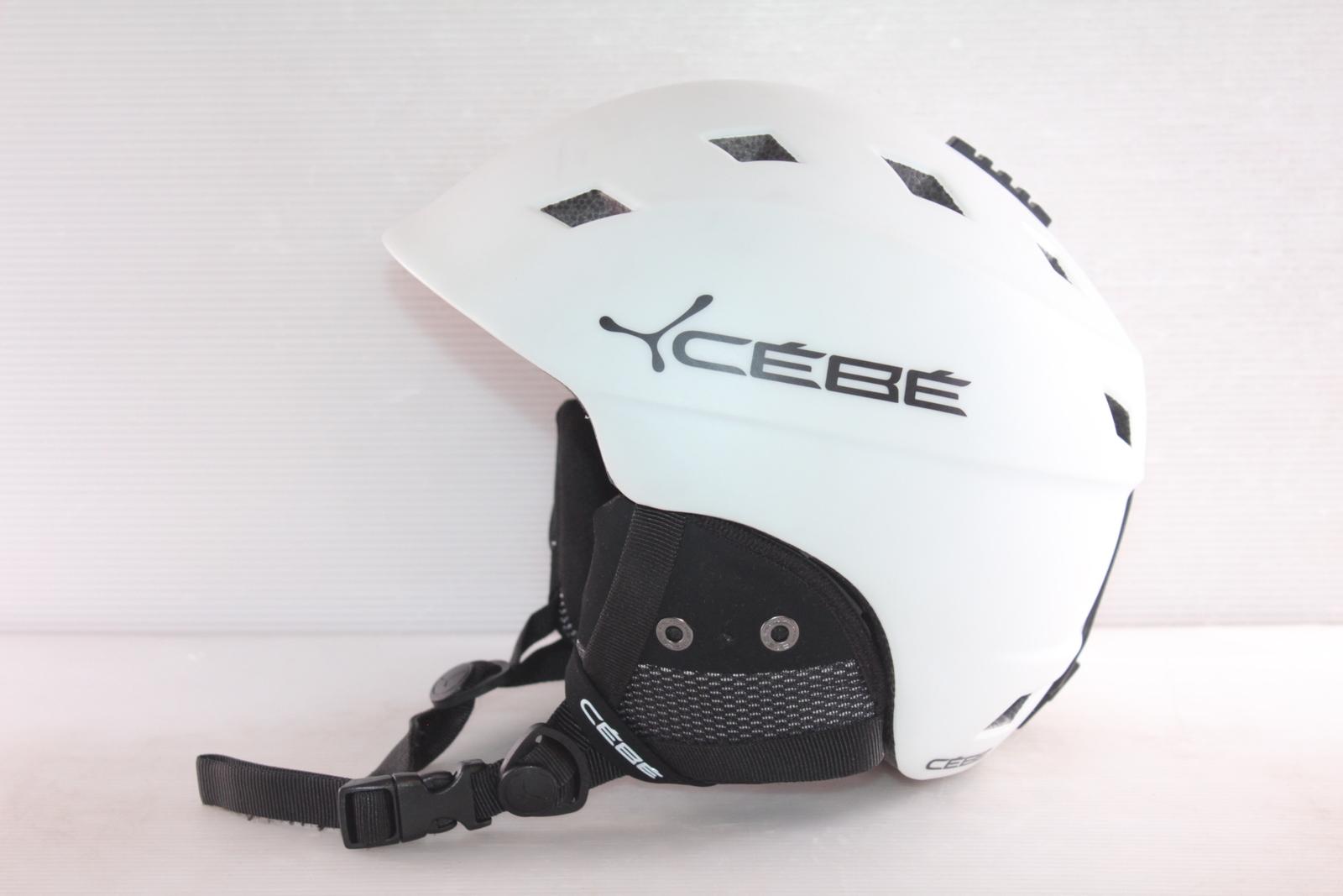 Dámská lyžařská helma Cébé Ivory - posuvná vel. 54 - 56