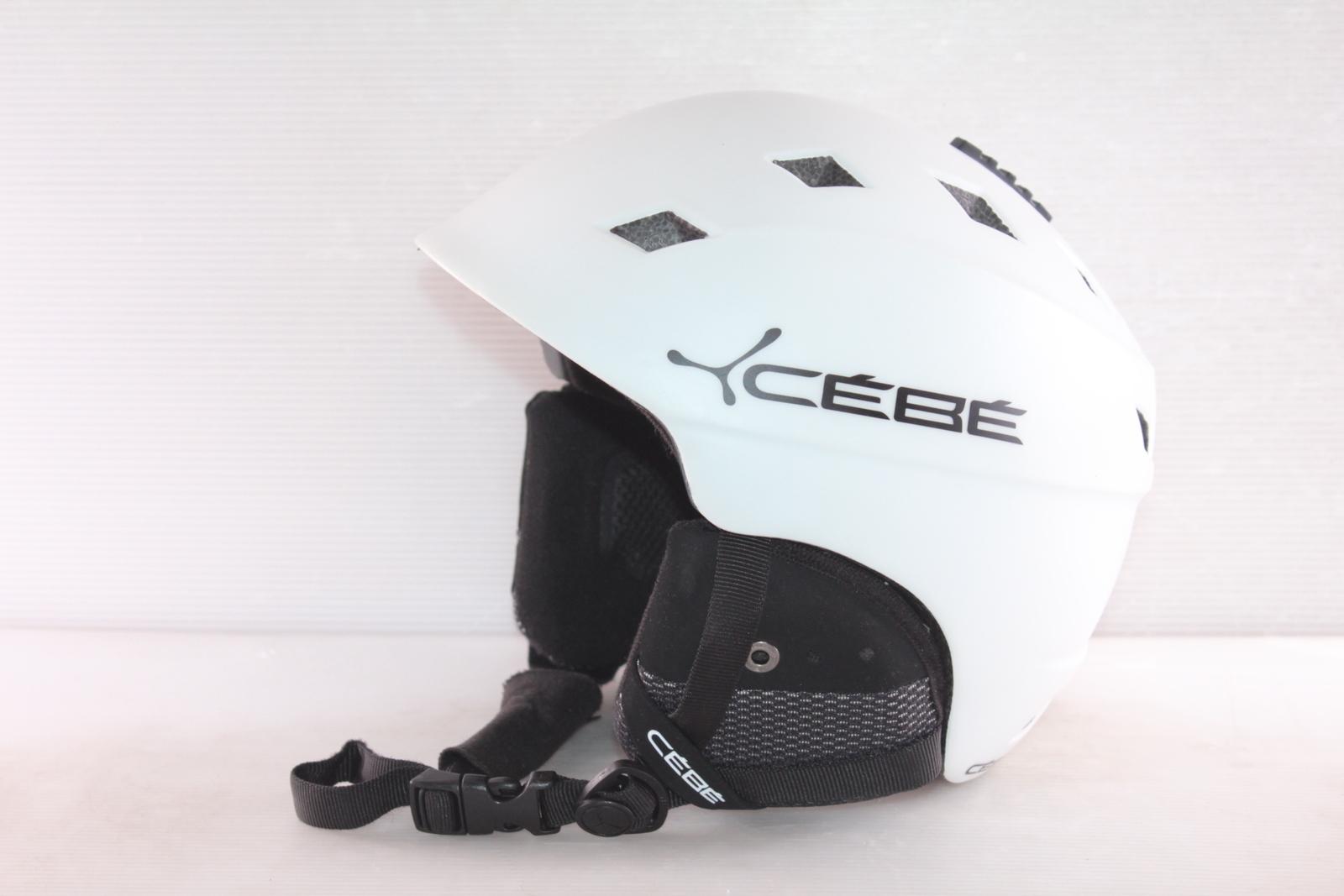 Dámská lyžařská helma Cébé Ivory - posuvná vel. 56 - 58