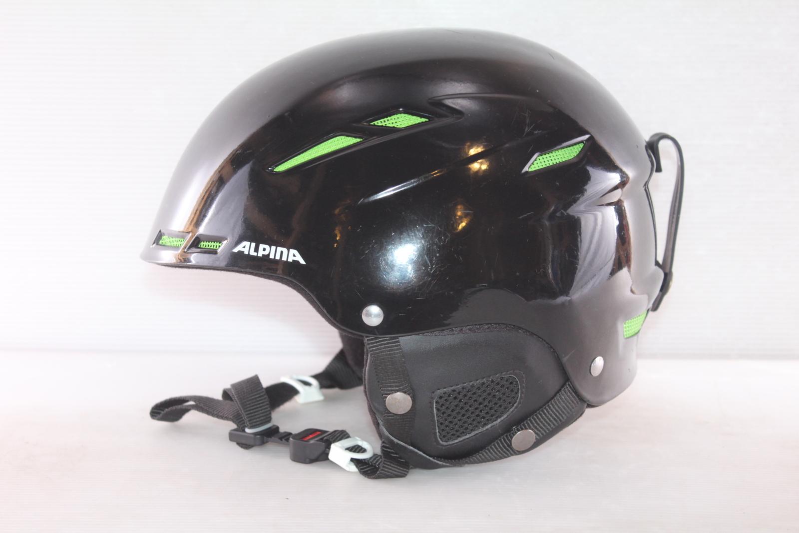 Dětská lyžařská helma Alpina Biom - posuvná vel. 58 - 62