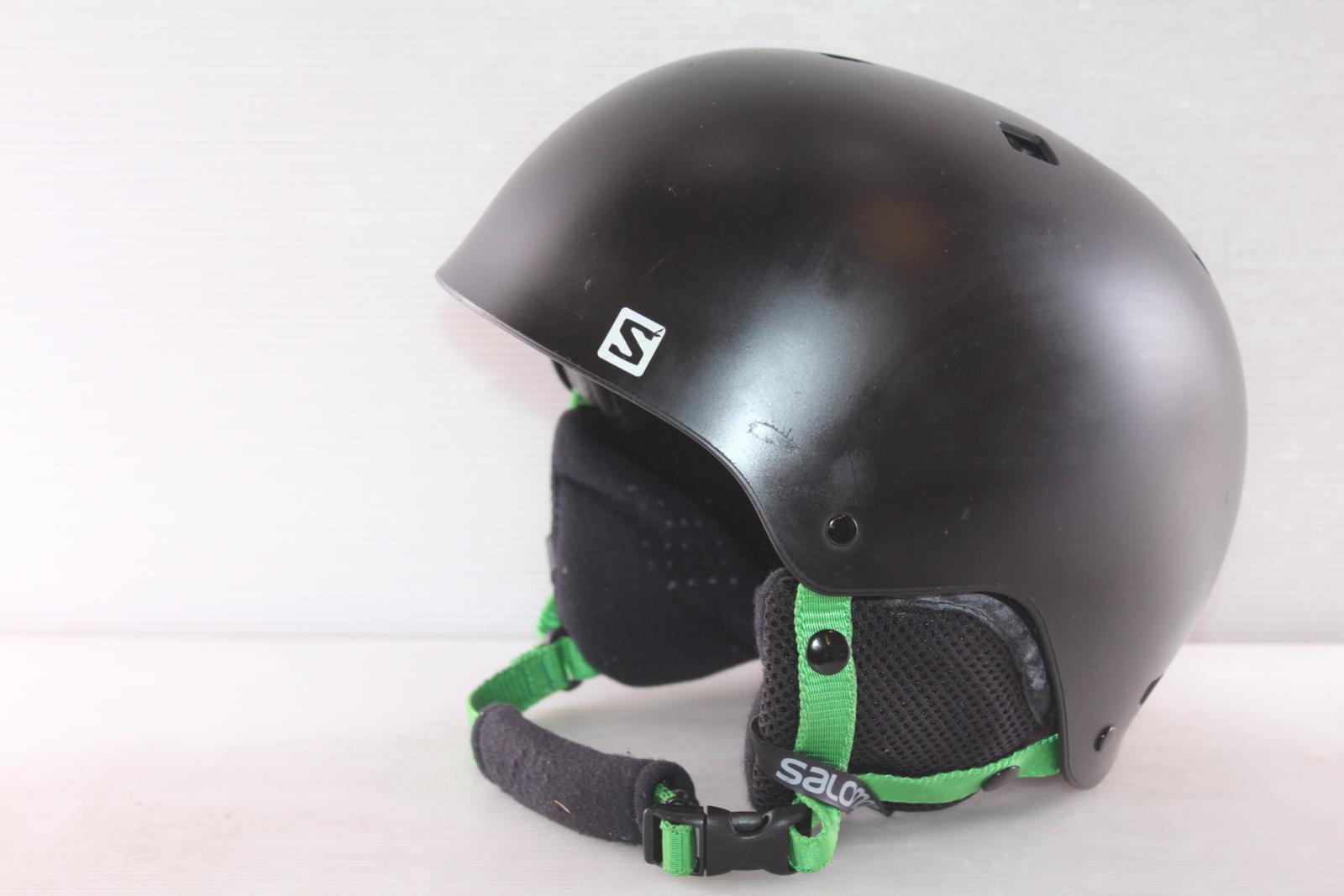 Lyžařská helma Salomon Green - posuvná vel. 55 - 58