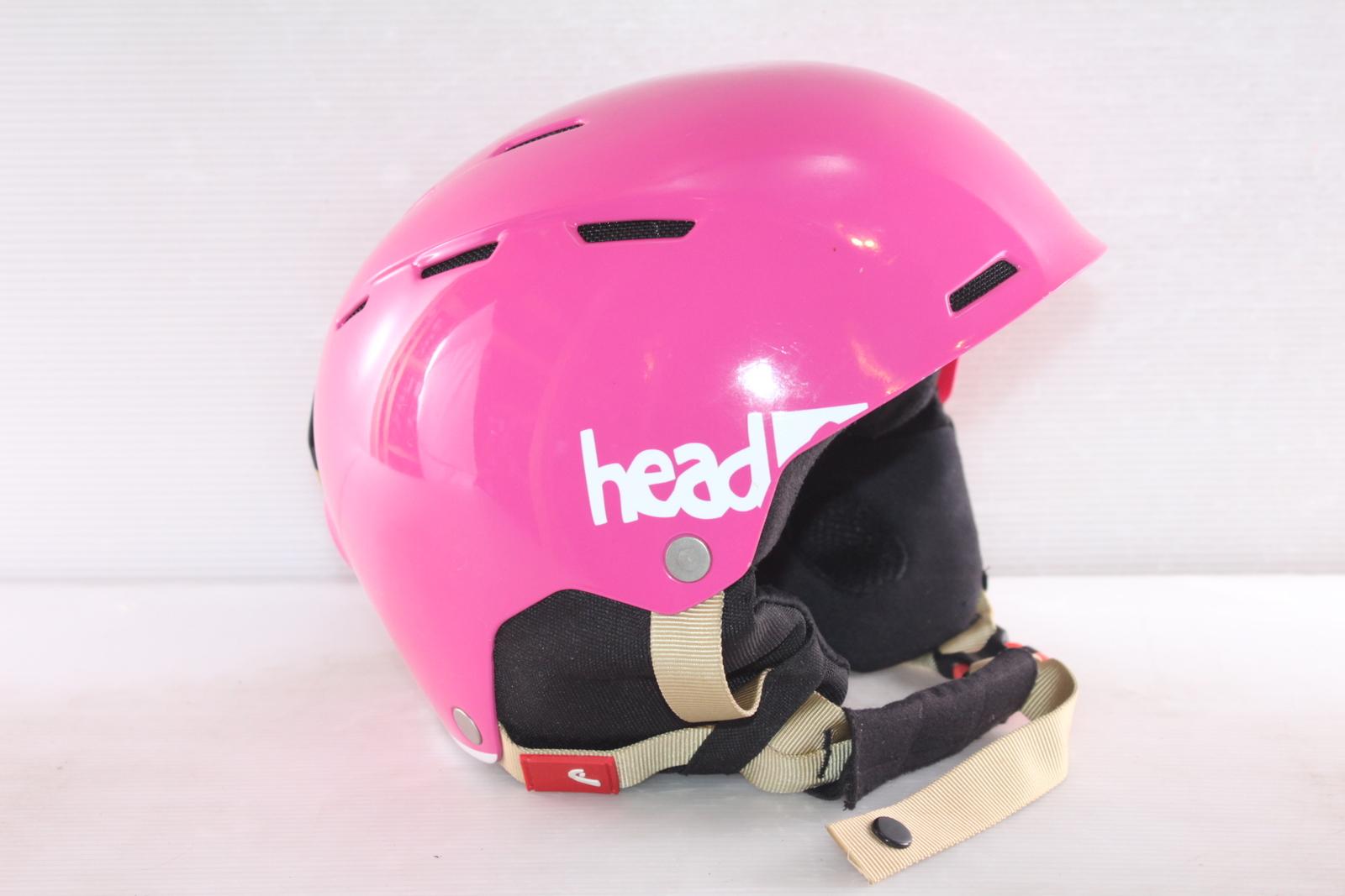 Dívčí lyžařská helma Head Air Youth Pink - posuvná vel. 56 - 59