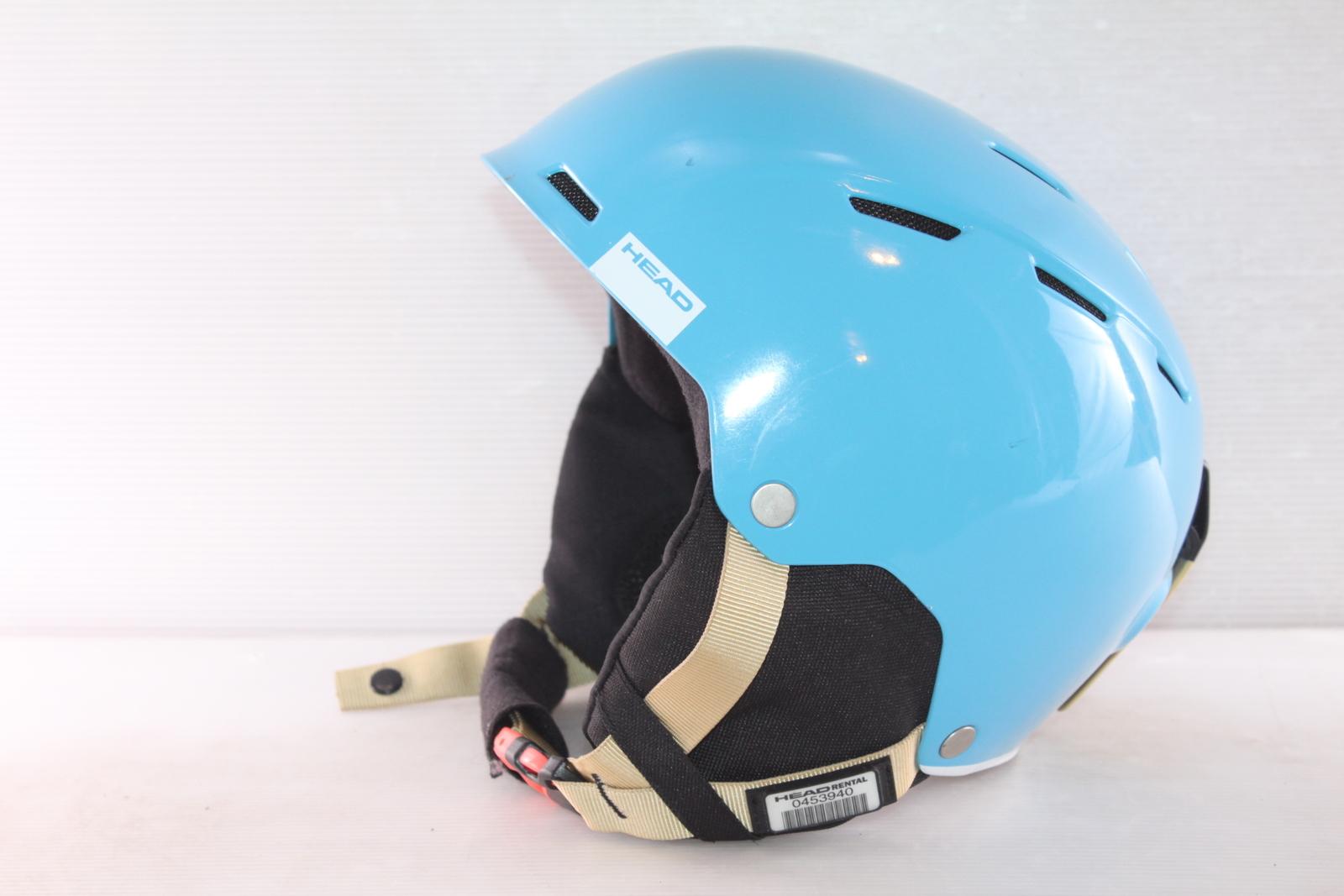 Dámská lyžařská helma Head Air Cyan - posuvná vel. 56 - 59