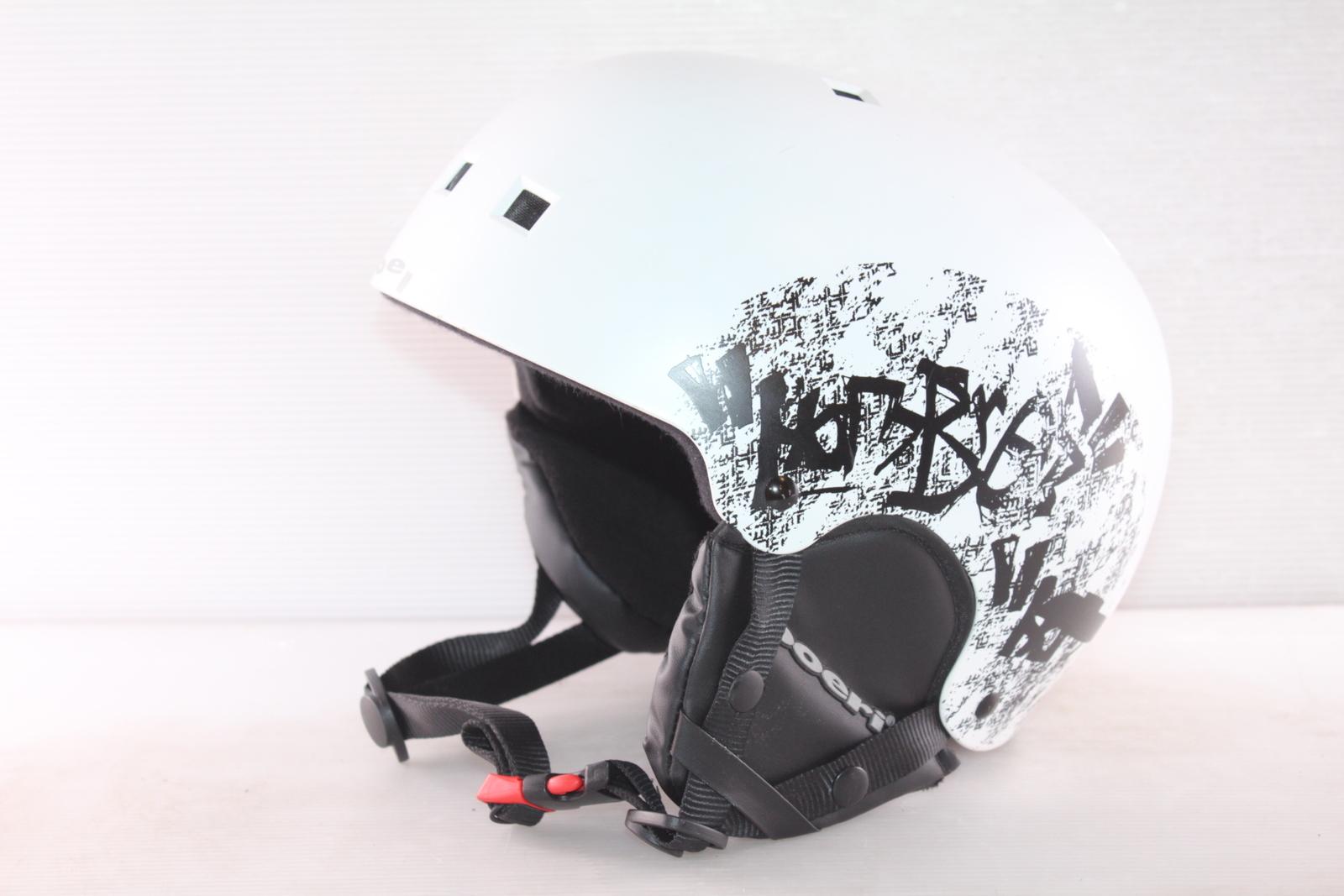 Dětská lyžařská helma Boeri Recco - posuvná vel. 58 - 60