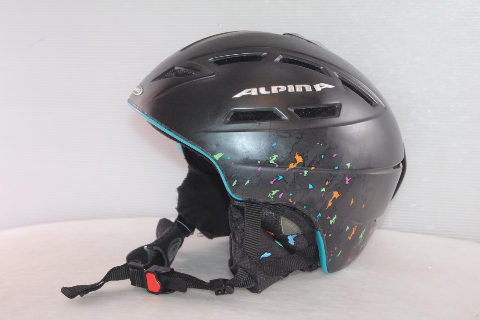 Dětská lyžařská helma Alpina Chief Ten - posuvná vel. 55 - 59