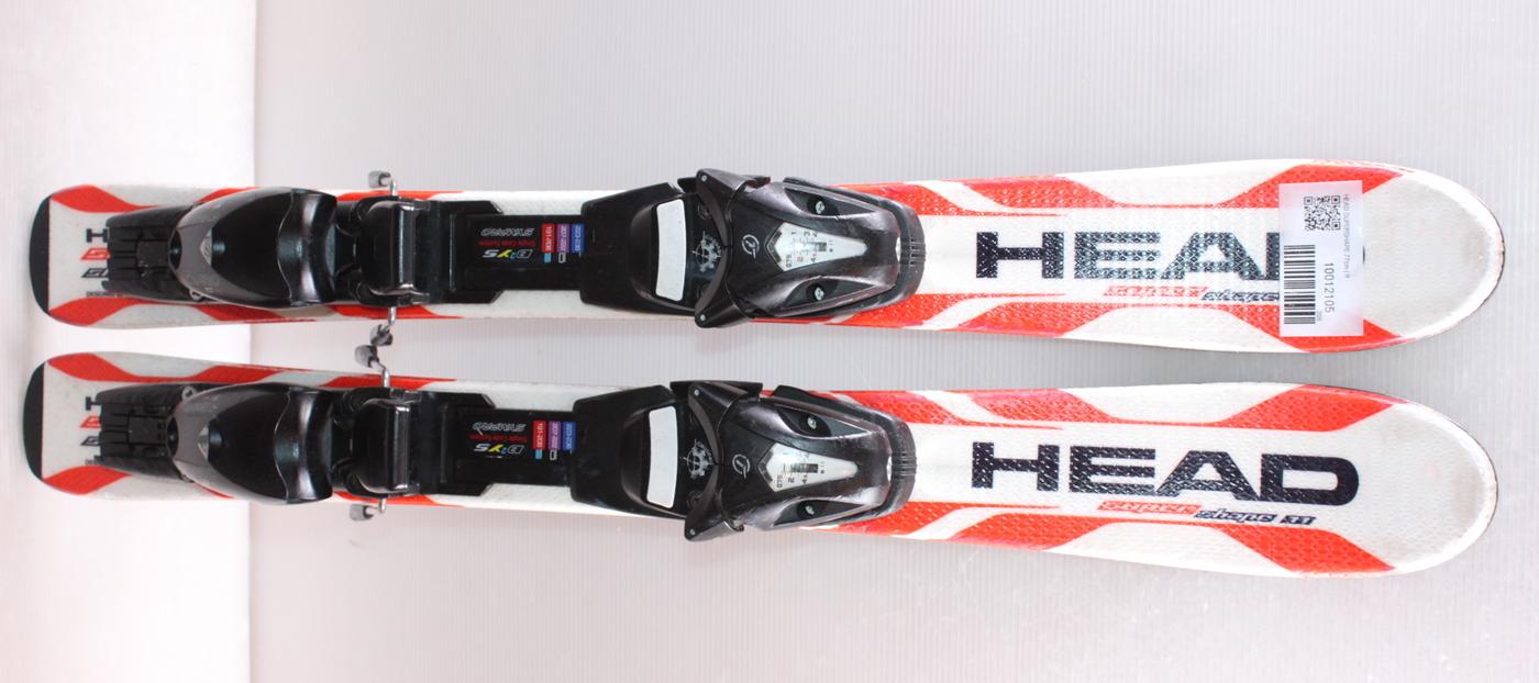 Dětské lyže HEAD SUPERSHAPE 77cm