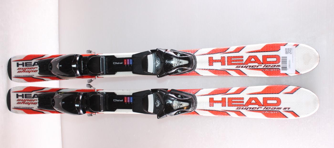 Dětské lyže HEAD SUPERSHAPE 87cm
