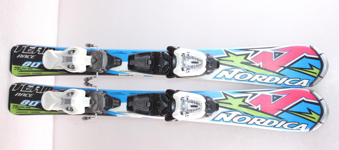 Dětské lyže NORDICA DOBERMANN TEAM RACE J 80cm
