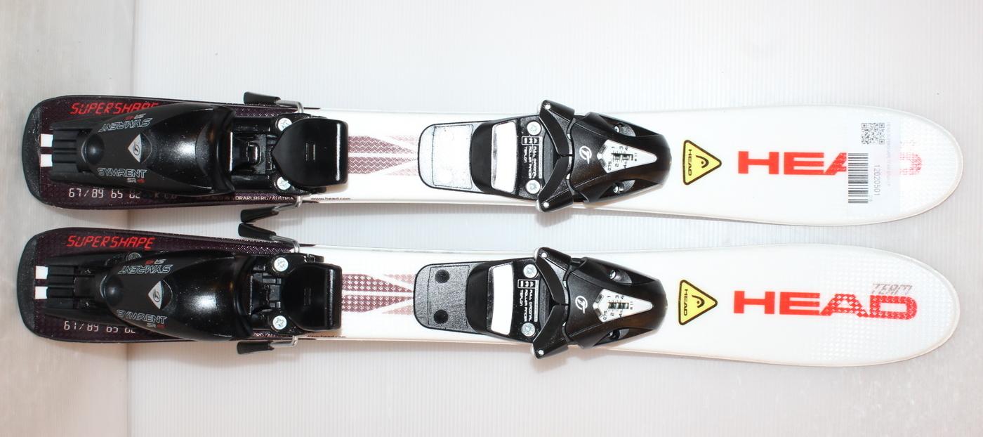 Dětské lyže HEAD SUPERSHAPE TEAM 67cm