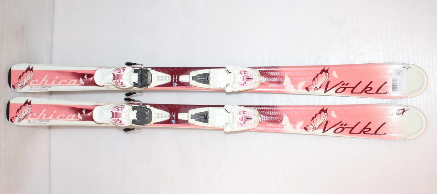 Dívčí lyže VOLKL CHICA 120cm