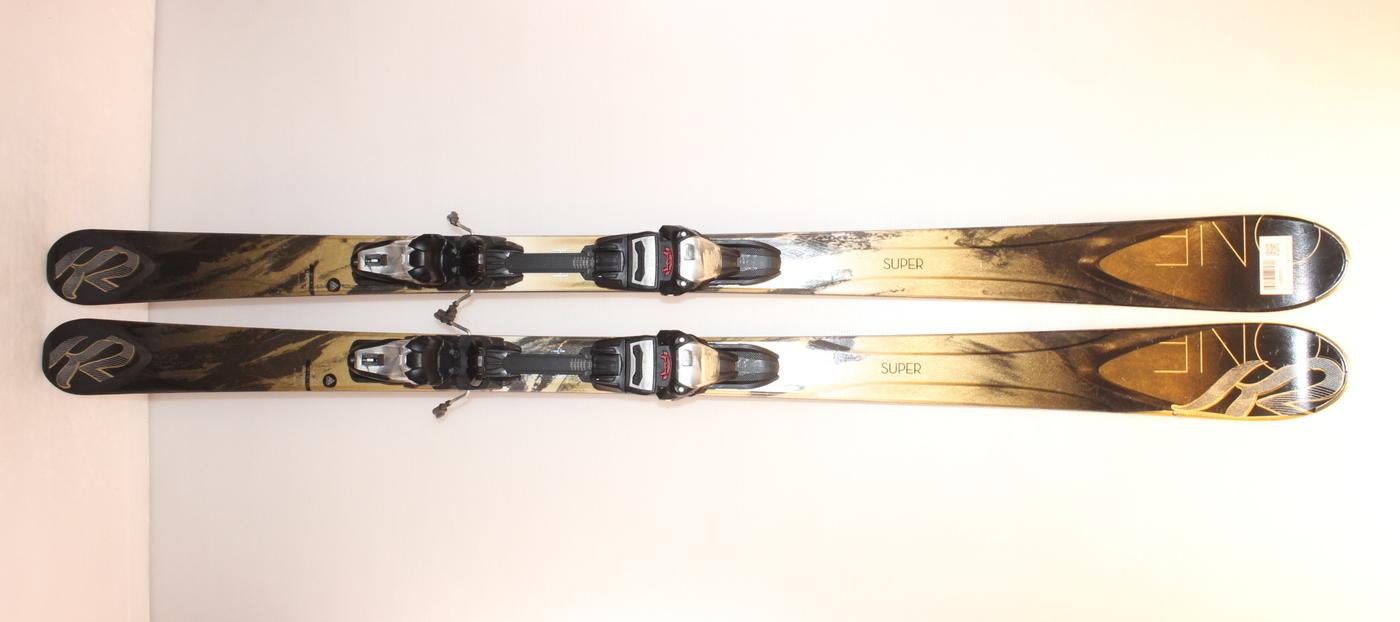 Dámské lyže K2 SUPER ONE 160cm