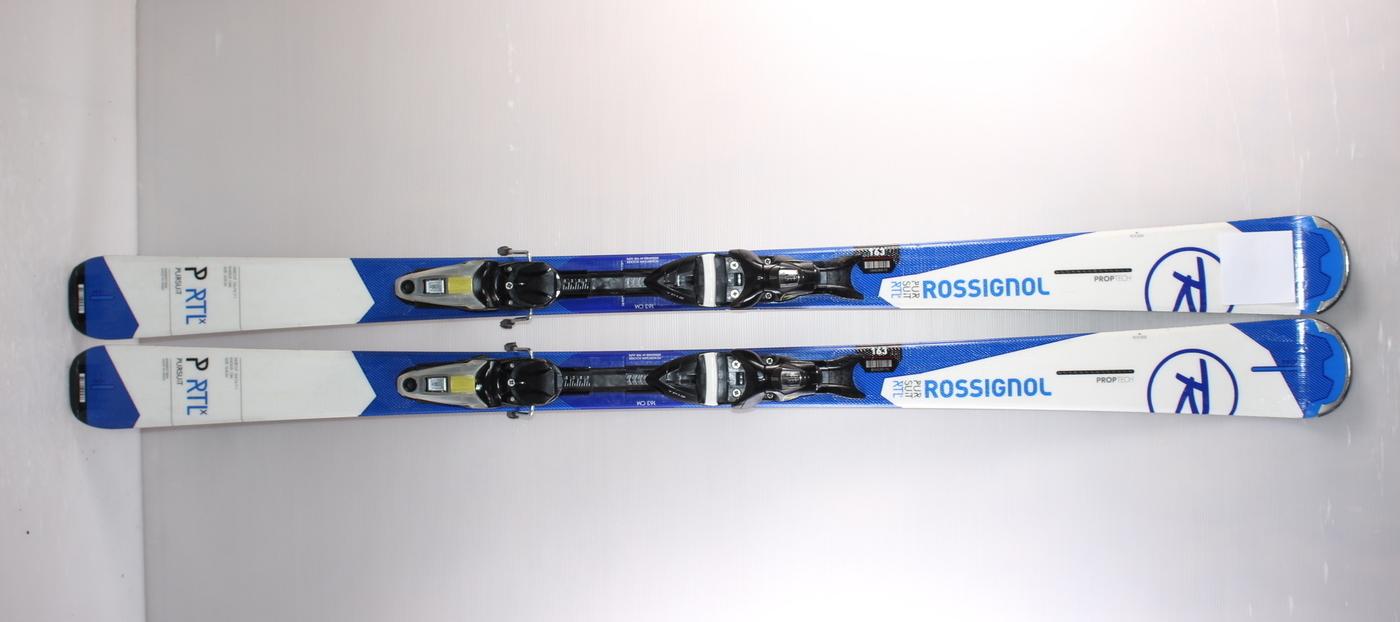 Lyže ROSSIGNOL PURSUIT RTL X WHITE/BLUE 163cm