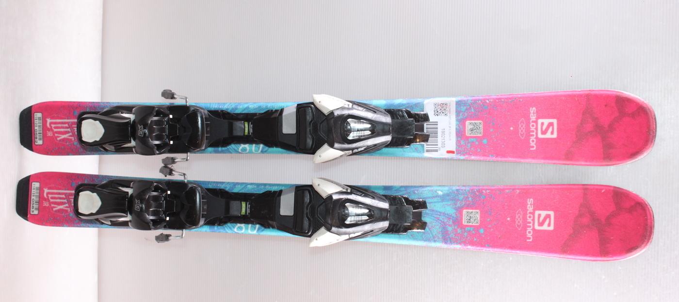 Dívčí lyže SALOMON QST LUX JR S 80cm rok 2018