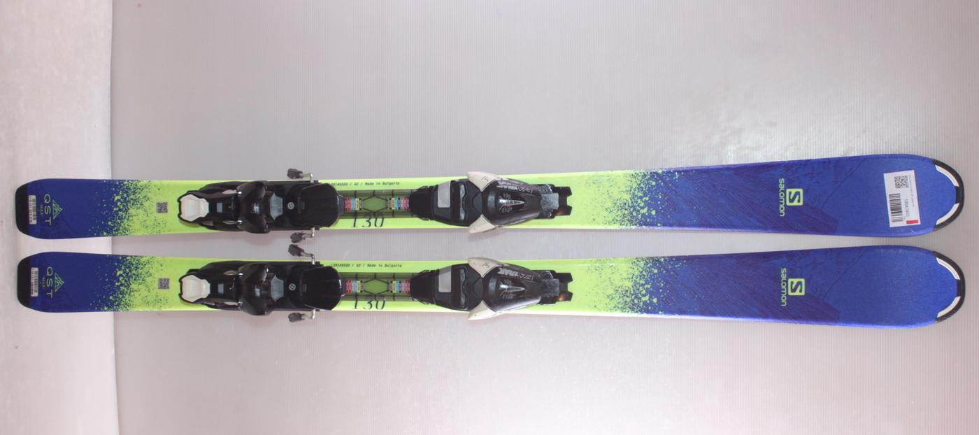 Dětské lyže SALOMON Q MAX JR 130cm rok 2018