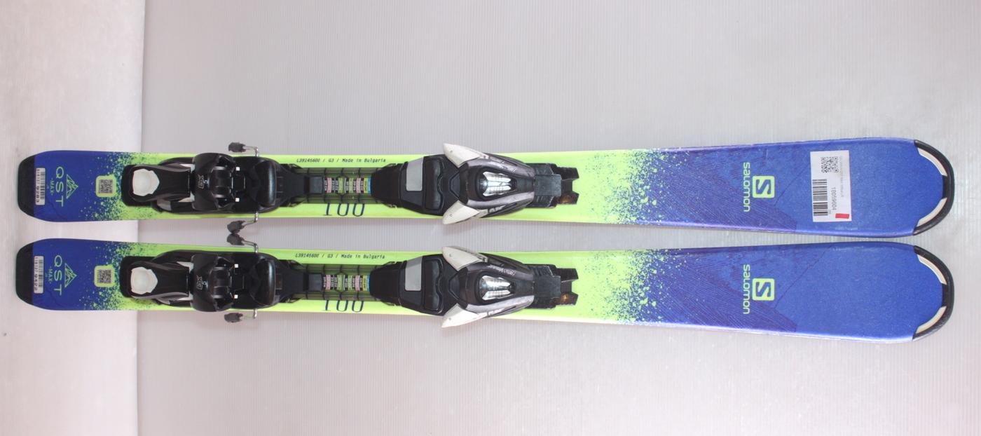 Dětské lyže SALOMON QST MAX 100cm rok 2018