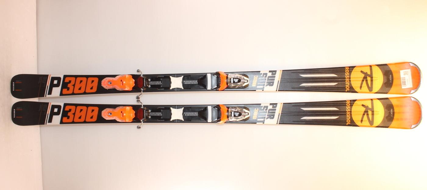 Lyže ROSSIGNOL Pursuit P300 black/orange 170cm rok 2019