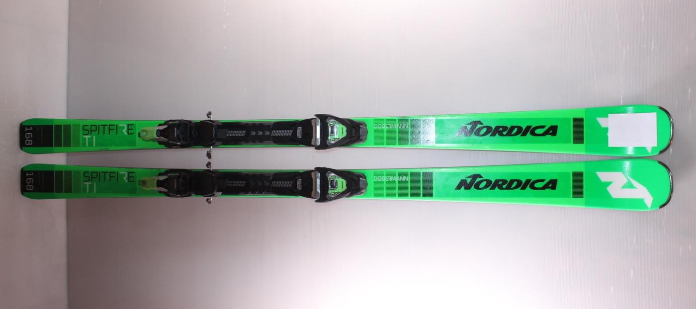 Lyže NORDICA DOBERMANN SPITFIRE Ti green/black 168cm rok 2020