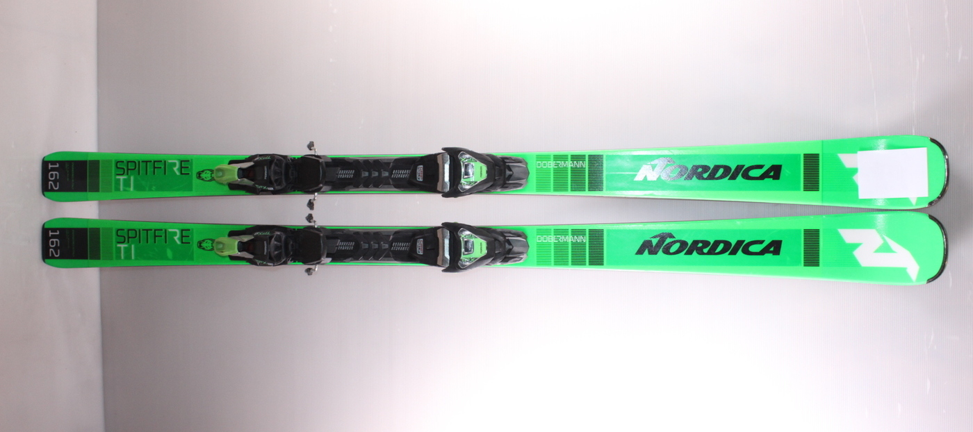 Lyže NORDICA DOBERMANN SPITFIRE Ti green/black 162cm rok 2020