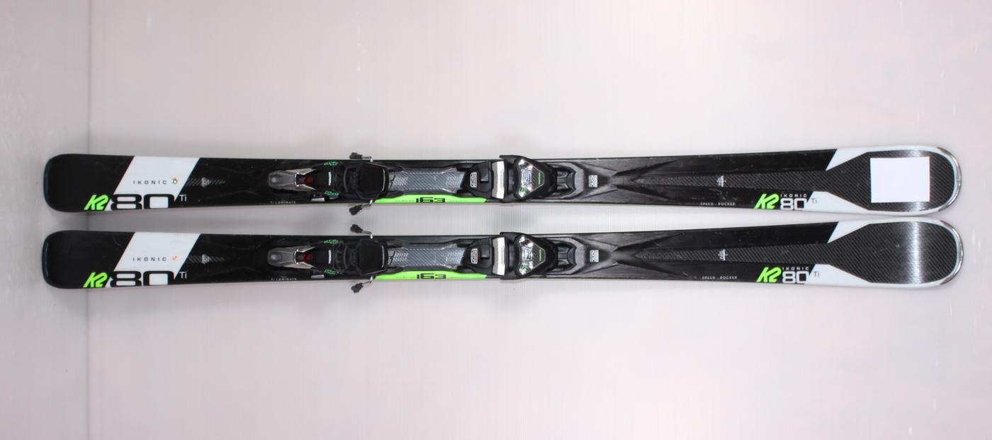 Lyže K2 IKONIC 80 Ti 163cm rok 2020
