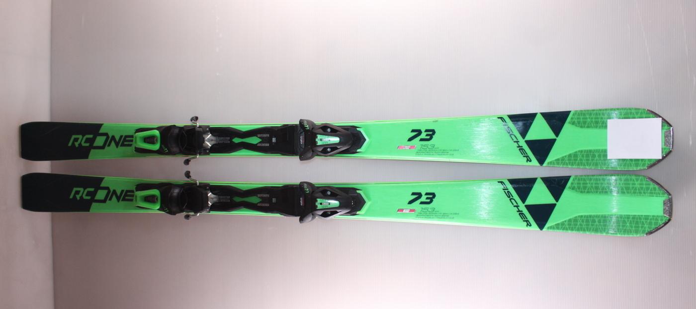 Lyže FISCHER RC ONE 73 153cm rok 2020