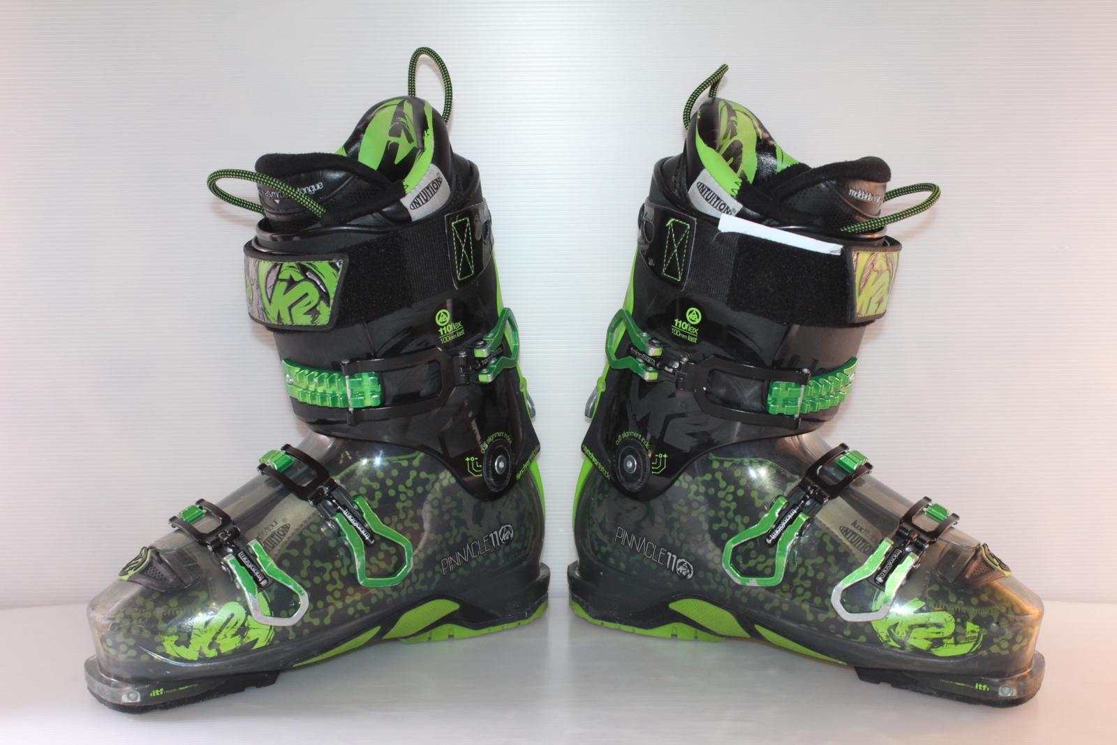 Skialpové boty K2 Pinnacle 11 - skialp vel. EU43.5 flexe 110