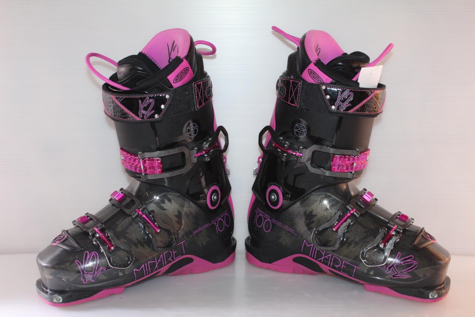 Dámské skialpové boty K2 Minaret 100 - skialp vel. EU41 flexe 100