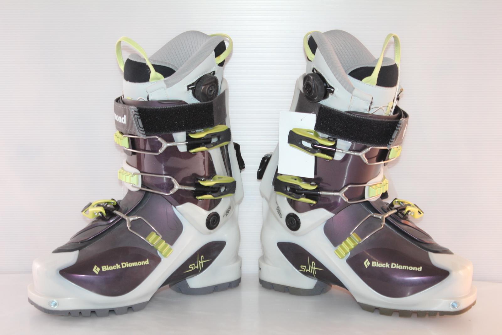 Skialpové boty Black Diamond SWIFT - skialp vel. EU38 flexe 100