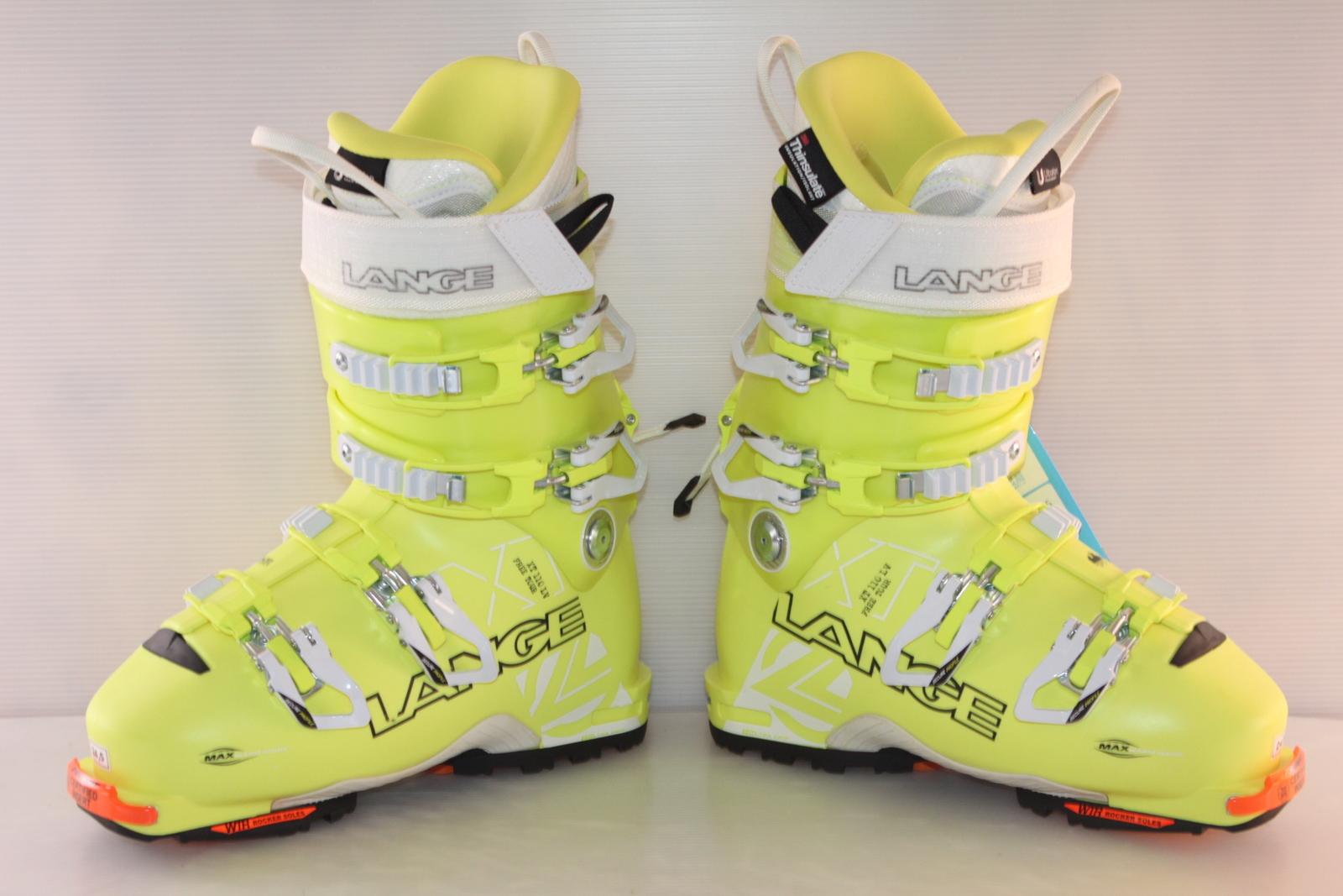 Skialpové boty Lange XT - skialp vel. EU38.5 flexe 110